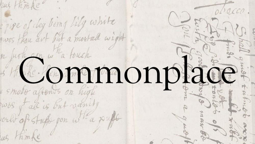 Commonplace Album Cover